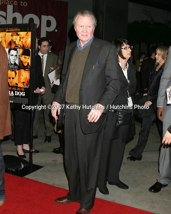 "Jon Voight.""Alpha Dogs"" World Premiere.Cinerama Dome Theater.Los Angeles, CA.January 1, 2007.©2007 Kathy Hutchins / Hutchins Photo...."