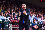 S&ouml;dert&auml;lje 2014-04-26 Basket SM-final S&ouml;dert&auml;lje Kings - Norrk&ouml;ping Dolphins :  <br /> tr&auml;nare headcoach coach Vedran Bosnic gestikulerar<br /> (Foto: Kenta J&ouml;nsson) Nyckelord:  S&ouml;dert&auml;lje Kings SBBK Norrk&ouml;ping Dolphins SM-final Final T&auml;ljehallen portr&auml;tt portrait
