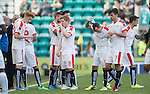 Water break for Raith Rovers as temperatures soar at Easter Road