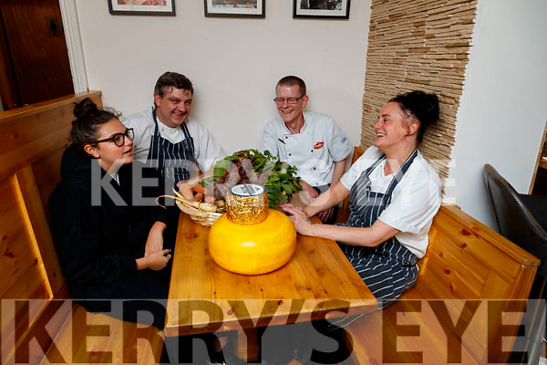 Erin Foley, Nicky Foley, Michael Murphy and Louise Brosnan, pictured at the launch of the Dingle Food Fair on Friday last.