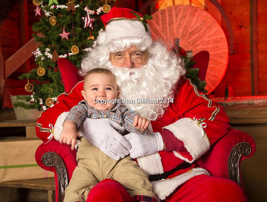Santa at Yates Mill<br /> Yates Mill Park<br /> Friday December 13, 2014<br /> Raleigh, NC