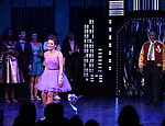 "Isabelle McCalla and Michael Potts during the Broadway Opening Night Curtain Call of ""The Prom"" at The Longacre Theatre on November 15, 2018 in New York City."