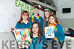 Celebrating Earth Day in Mercy Mounthawk Secondary School on Friday were: Nicole Chekall, Leah Browne, Sinead Foran, Stephen Ryan and Christine Fitzgibbon.