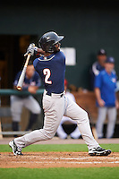 New Hampshire Fisher Cats center fielder Melky Mesa (2) at bat during a game against the Harrisburg Senators on June 2, 2016 at FNB Field in Harrisburg, Pennsylvania.  New Hampshire defeated Harrisburg 2-1.  (Mike Janes/Four Seam Images)