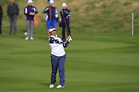 Megan Khang of Team USA on the 7th fairway during Day 2 Foursomes at the Solheim Cup 2019, Gleneagles Golf CLub, Auchterarder, Perthshire, Scotland. 14/09/2019.<br /> Picture Thos Caffrey / Golffile.ie<br /> <br /> All photo usage must carry mandatory copyright credit (© Golffile | Thos Caffrey)