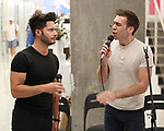 "Mike Squillante and Evan Maltby during the ""Only Human - A #Blessed New Musical"" Sneak Peek at The Yard Herald Square on September 17, 2019 in New York City."
