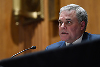 Internal Revenue Service Commissioner Charles Rettig testifies before the Senate Finance Committee on Capitol Hill in Washington, Tuesday, June 30, 2020, during a hearing on the 2020 filing season and COVID-19 recovery. <br /> Credit: Susan Walsh / Pool via CNP /MediaPunch