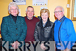 Joan and Coleman Barrett, Milltown pictured with Doreen and Les Nolan, Beaufort enjoying the Beaufort Rambling House held in the Community Centre on Saturday night.