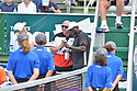 DELRAY BEACH, FL - NOVEMBER 24: Luke Jensen and Seal attends the 30TH Annual Chris Evert Pro-Celebrity Tennis Classic Day3 at the Delray Beach Tennis Center on November 24, 2019 in Delray Beach, Florida.  ( Photo by Johnny Louis / jlnphotography.com )
