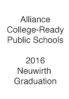 2016 Alliance Grad Neuwirth