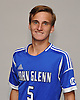 Andrew Lule of Glenn poses for a portrait during Newsday's 2016 varsity boys soccer season preview photo shoot at company headquarters on Tuesday, Sept. 6, 2016.