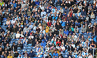 Blackburn Rovers fans watch their team in action <br /> <br /> Photographer Kevin Barnes/CameraSport<br /> <br /> The EFL Sky Bet Championship - Blackburn Rovers v Huddersfield Town - Saturday 19th October 2019 - Ewood Park - Blackburn<br /> <br /> World Copyright © 2019 CameraSport. All rights reserved. 43 Linden Ave. Countesthorpe. Leicester. England. LE8 5PG - Tel: +44 (0) 116 277 4147 - admin@camerasport.com - www.camerasport.com