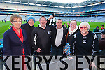 Roisin McGrath, Sean McGrath, Mike Fitzell, Martin Woulfe, Deridre Ferris and Marie Ferris Ardfert supporters at the Intermediate All Ireland Club Final in Croke Park on Saturday.