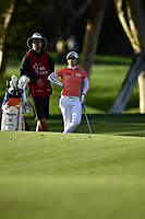The 2018 Kia Classic Champion Eun-Hee Ji (KOR) waits on the 17th fairway to hit during the Final Round at the Kia Classic,Park Hyatt Aviara Resort, Golf Club &amp; Spa, Carlsbad, California, USA. 3/25/18.<br /> Picture: Golffile | Bruce Sherwood<br /> <br /> <br /> All photo usage must carry mandatory copyright credit (&copy; Golffile | Bruce Sherwood)