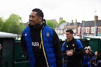 Anthony Perenise and the rest of the Bath Rugby team arrive at Welford Road. Gallagher Premiership match, between Leicester Tigers and Bath Rugby on May 18, 2019 at Welford Road in Leicester, England. Photo by: Patrick Khachfe / Onside Images
