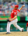 1 May 2011: Washington Nationals pitcher Tyler Clippard on the mound against the San Francisco Giants at Nationals Park in Washington, District of Columbia. The Nationals defeated the Giants 5-2. Mandatory Credit: Ed Wolfstein Photo