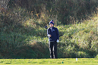 David Kitt (Athenry) on the 10th tee during Round 3 of the Ulster Boys Championship at Portrush Golf Club, Portrush, Co. Antrim on the Valley course on Thursday 1st Nov 2018.<br /> Picture:  Thos Caffrey / www.golffile.ie<br /> <br /> All photo usage must carry mandatory copyright credit (&copy; Golffile | Thos Caffrey)