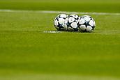 31st October 2017, Wanda Metropolitano, Madrid, Spain; UEFA Champions League, Atletico Madrid versus Qarabag FK; Balls before the start of the match at Wanda Metropolitan Stadium