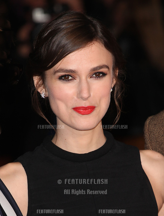 Keira Knightley arriving for the UK Premiere of Jack Ryan, at Vue Leicester Square, London. 20/01/2014 Picture by: Alexandra Glen / Featureflash