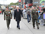 Jimmy Deenahan TD arrives at the Famine Commemoration in Drogheda. Photo: Colin Bell/pressphotos.ie