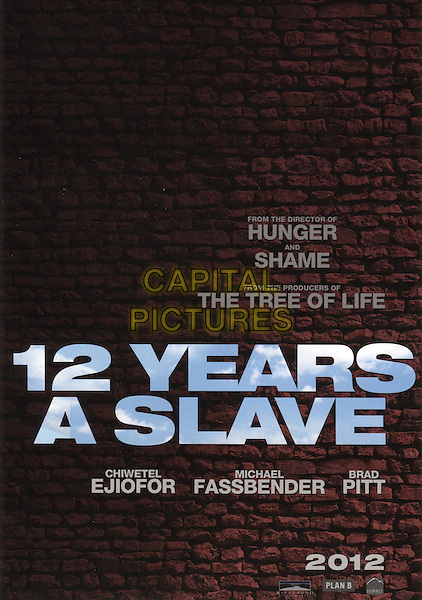 POSTER ART<br /> in 12 Years a Slave (2013) <br /> *Filmstill - Editorial Use Only*<br /> CAP/FB<br /> Image supplied by Capital Pictures