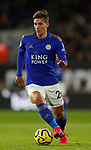 Dennis Praet of Leicester City during the Premier League match at Molineux, Wolverhampton. Picture date: 14th February 2020. Picture credit should read: Darren Staples/Sportimage
