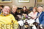 Enjoying the School of Music Evita fundraiser Table Quiz in the Brogue on Friday were Noel King, Dan Green, Carmel McElroy, Mary Foley, Colin Blackwood