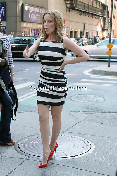 NEW YORK, NY - JUNE 19: Kylie Minogue seen in New York City. on her way to an appearance on Entertainment Tonight. June 19, 2013.<br /> Credit: MediaPunch/face to face<br /> - Germany, Austria, Switzerland, Eastern Europe, Australia, UK, USA, Taiwan, Singapore, China, Malaysia, Thailand, Sweden, Estonia, Latvia and Lithuania rights only -
