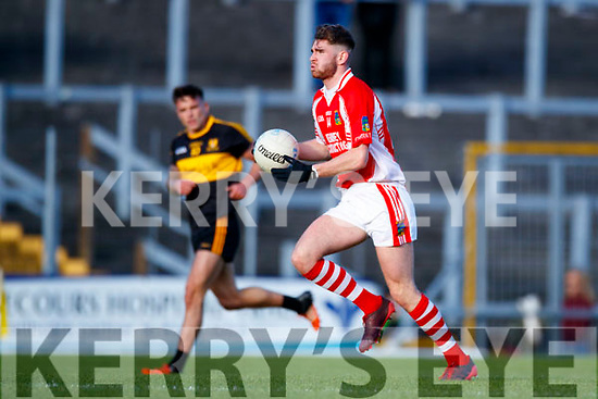 Dr Crokes in action against Eanna Ó Conchúir West Kerry in the Kerry Senior Football Championship Semi Final at Fitzgerald Stadium on Saturday.