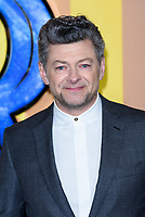 LONDON, ENGLAND - FEBRUARY 8: Andy Serkis arrives at the 'Black Panther' European premiere at the Eventim Apollo, on February 8th, 2018 in London, England. <br /> CAP/JC<br /> &copy;JC/Capital Pictures