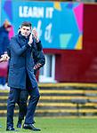 15.12.2019 Motherwell v Rangers: Steven Gerrard at full time