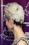 """Beth Malone, hair detail, attends The American Associates of the National Theatre's Gala celebrating Tony Kushner's """"Angels in America"""" on March 11, 2018 at the Ziegfeld Ballroom,  in New York City."""