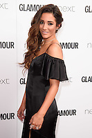 Frankie Bridge<br /> arrives for the Glamour Women of the Year Awards 2016, Berkley Square, London.<br /> <br /> <br /> &copy;Ash Knotek  D3130  07/06/2016