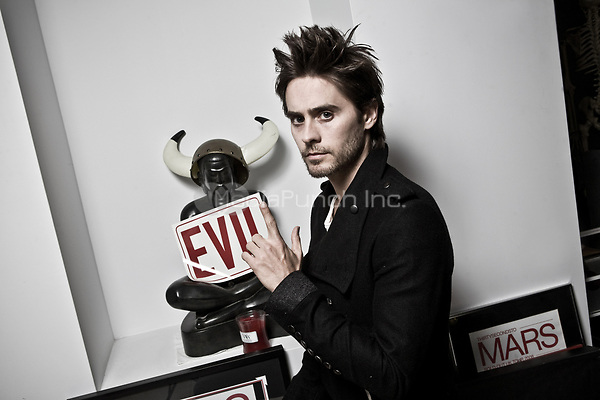 Jared Leto and 30 Second To Mars photographed in Studio City, CA USA on September 30, 2009. Credit: Kevin Estrada / MediaPunch  ***NEGOTIATE FEE BEFORE USE***