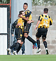 East Fife's Liam Buchanan celebrates after he scores their second goal taking the game into extra time.