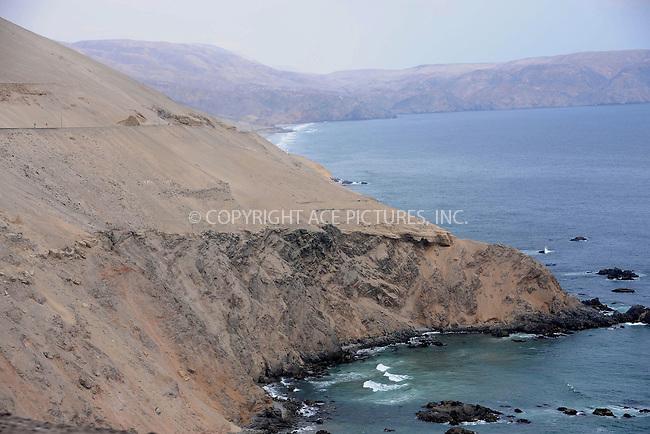 WWW.ACEPIXS.COM . . . . . .January 3, 2013...Nazca, Peru.... The road from Nasca to Arequipa on January 3, 2013 in Peru ....Please byline: KRISTIN CALLAHAN - ACEPIXS.COM.. . . . . . ..Ace Pictures, Inc: ..tel: (212) 243 8787 or 212 489 0521..e-mail: kristincallahan@aol.com...web: http://www.acepixs.com .