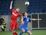 Benno Schmitz (1.FC Köln) und Christoph Baumgartner (TSG 1899 Hoffenheim)<br /> <br /> Foto: POOLFOTO/Avanti/Ralf Poller/PIX-Sportfotos.<br /> TSG 1899 Hoffenheim-1. FC Koeln.<br /> Sinsheim,  GER, 27.05.2020 , 28. Spieltag , Fussball 1. Bundesliga 2019/2020.<br /> <br /> Sport: Fussball: LIGA: Saison 19/20: TSG 1899 Hoffenheim- 1.FC Koeln, 27.05.2020.<br /> Foto: RALF POLLER/AVANTI/POOL<br /> <br /> Nur für journalistische Zwecke! Only for editorial use! <br /> Gemäß den Vorgaben der DFL Deutsche Fußball Liga ist es untersagt, in dem Stadion und/oder vom Spiel angefertigte Fotoaufnahmen in Form von Sequenzbildern und/oder videoähnlichen Fotostrecken zu verwerten bzw. verwerten zu lassen. DFL regulations prohibit any use of photographs as image sequences and/or quasi-video.