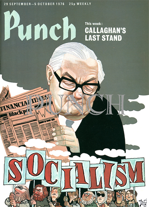 Punch (Front cover, 29 September 1976)