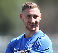 Preston North End's Louis Moult<br /> <br /> Photographer Mick Walker/CameraSport<br /> <br /> Pre-Season Friendly -Bamber Bridge v Preston North End  - Saturday 7th July  2018 - Irongate Stadium,Bamber Bridge<br /> <br /> World Copyright &copy; 2018 CameraSport. All rights reserved. 43 Linden Ave. Countesthorpe. Leicester. England. LE8 5PG - Tel: +44 (0) 116 277 4147 - admin@camerasport.com - www.camerasport.com