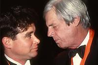 #JayMcInerney #GeorgePlimpton 1990<br /> Photo By Adam Scull/PHOTOlink.net
