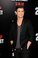 LOS ANGELES, CA - MAR 13: Spencer Boldman at the premiere of Columbia Pictures '21 Jump Street' held at Grauman's Chinese Theater on March 13, 2012 in Los Angeles, California