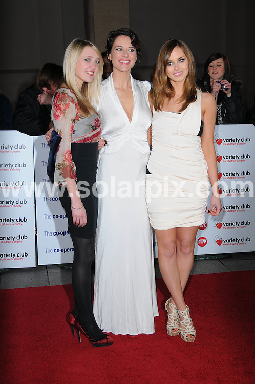 **ALL ROUND PICTURES FROM SOLARPIX.COM**                                             **WORLDWIDE SYNDICATION RIGHTS**                                                                                  Caption: attends the Variety Club Showbiz Awards at Grosvenor House, London, UK. 14 November 2010                                                              This pic: Emily Head, Belinda Stewart-Wilson and Hannah Tointon                                                     JOB REF: 12478 MSR       DATE: 14_11_2010                                                           **MUST CREDIT SOLARPIX.COM OR DOUBLE FEE WILL BE CHARGED**                                                                      **MUST AGREE FEE BEFORE ONLINE USAGE**                               **CALL US ON: +34 952 811 768 or LOW RATE FROM UK 0844 617 7637**