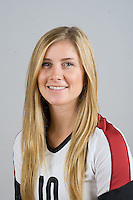 STANFORD, CA - AUGUST 13, 2013 - Kyle Gilbert of the Stanford Women's Volleyball team.