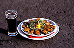 Ireland: Irish food, mussels, Moran's Pub, Kilcogen, westerm Ireland  .Photo: irwest104.Photo copyright: Lee Foster, www.fostertravel.com, 510-549-2202, lee@fostertravel.com