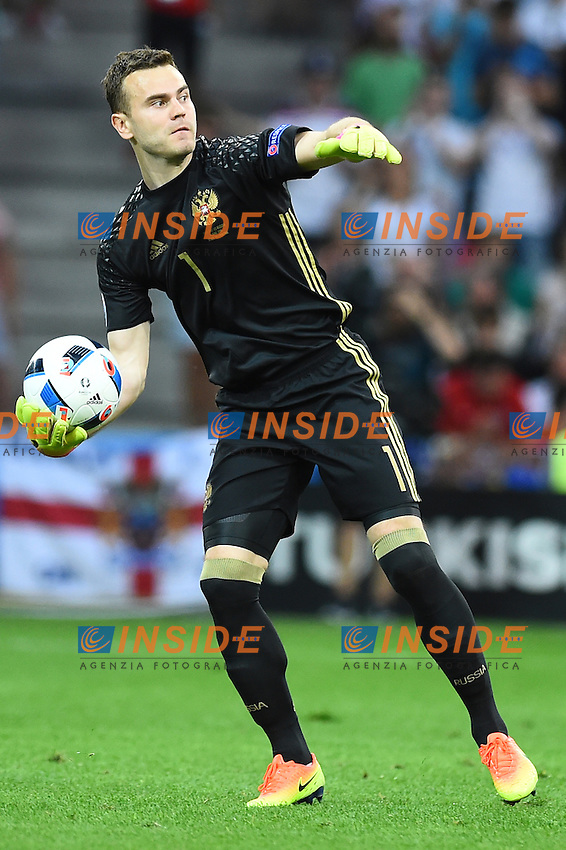 Igor Akinfeev Russia<br /> Marseille 11-06-2016 Stade Velodrome Footballl Euro2016 England - Russia  / Inghilterra - Russia Group Stage Group B. Foto Massimo Insabato / Insidefoto