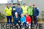 At the third annual Kerins O'Rahillys 10k will be run in memory of Pat Healy were Front Fiona O'Connor, Aileen Griffin, Mary Crowe Back Mike Griffin, Frank O'Connor, Dinny O'Connor, Nigel Crowe, Frank Slattery, Kieran Griffin
