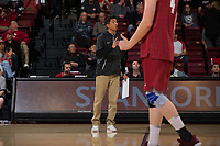 STANFORD, CA - January 10, 2019: Stanford beats Ball State 3-0 at Maples Pavilion.