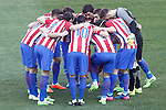 Atletico de Madrid's players during La Liga match. February 26,2017. (ALTERPHOTOS/Acero)