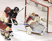 Gabe Gauthier, Lee Jubinville, Glenn Fisher - The Princeton University Tigers defeated the University of Denver Pioneers 4-1 in their first game of the Denver Cup on Friday, December 30, 2005 at Magness Arena in Denver, CO.