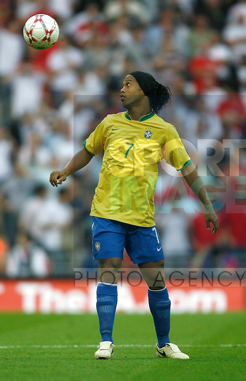 Brazil's Ronaldinho..International Friendly..England v Brazil..1st June, 2007..--------------------..Sportimage +44 7980659747..admin@sportimage.co.uk..http://www.sportimage.co.uk/
